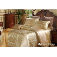 Wensli Bedding set - Silk golden