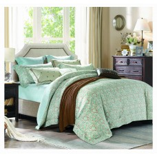 Silk Camel Luxury 100% Cotton 3-Piece Bedding Set, Duvet Cover and Pillow Sham - Tylis
