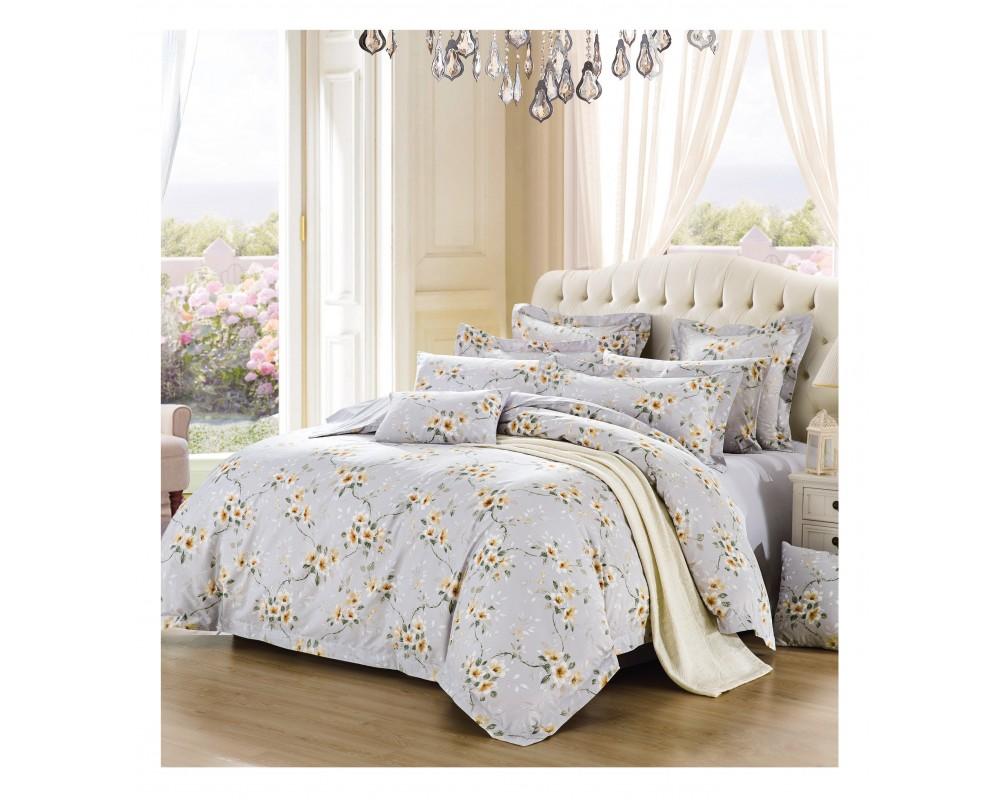 Silk Camel Luxury Cotton 3 Piece Bedding Set Duvet