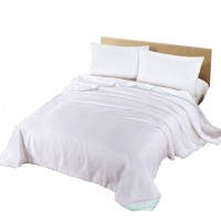Silk Camel Luxury Allergy-Free Comforter Filled with 100% Natural Long Strand Mulberry Silk for Spring Season