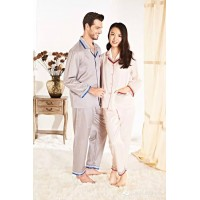 Wensli Silk Pajamas for couples - ZL