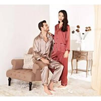 Wensli Silk Pajamas for couples - SS01