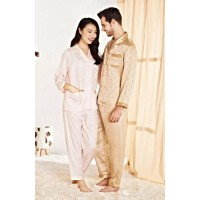 Wensli Silk Pajamas for couples -ZJ