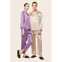 Wensli Silk Pajamas for couples - ZX/ZJU